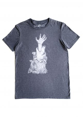 Devour Men's Grey Tee