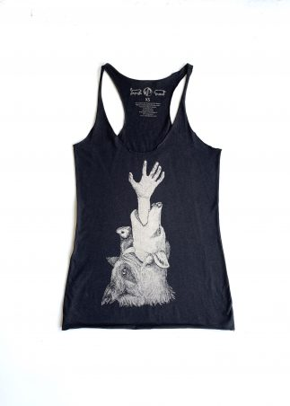 Devour Women's Black Tank
