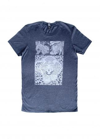 Jaguar Men's Grey Tee
