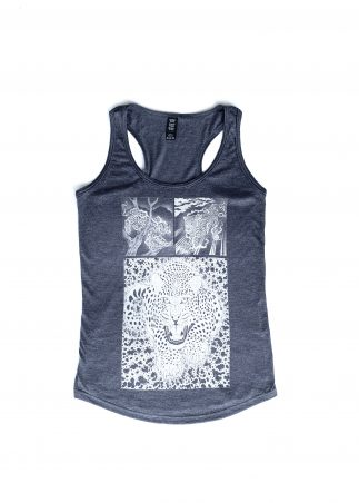 Jaguar Women's Grey Tank