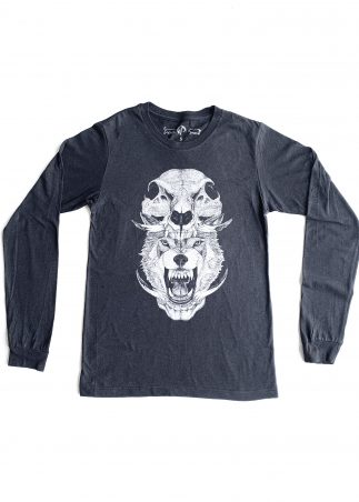 Skullhead Men's Black Long Sleeve