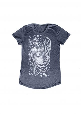Dolphin Women's Grey Tee