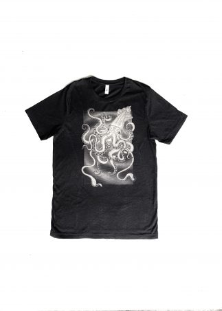 Kraken Men's Black Tee