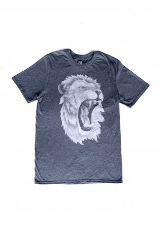 Lion Men's Grey Tee