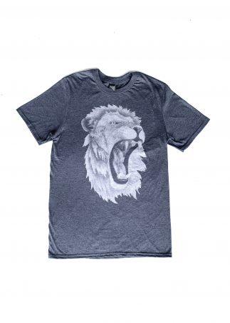 Lion Men's Grey Tee