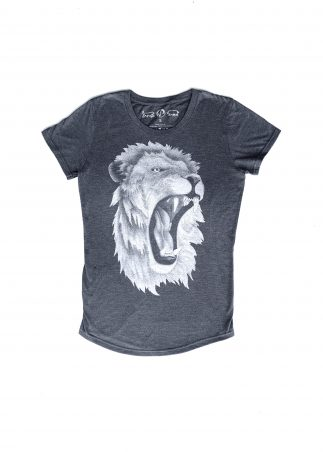 Lion Women's Grey Tee