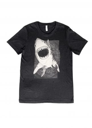 Shark Men's Black Tee