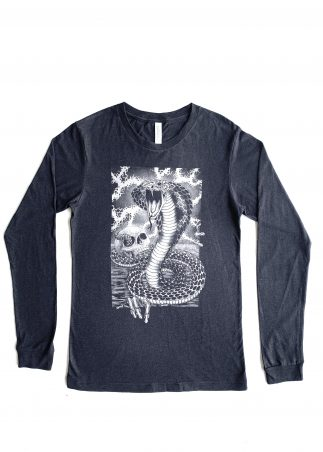 Snake Men's Black Longsleeve
