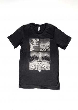 Vulture Men's Black Tee