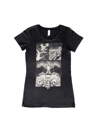 Vulture Women's Black Tee