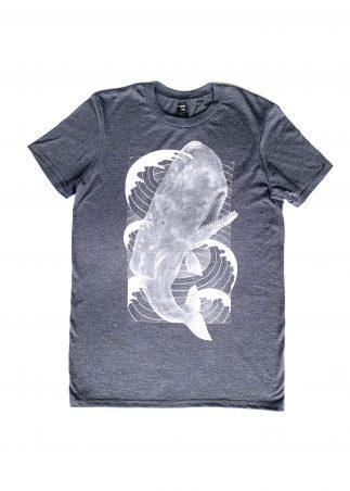 Whale Men's Grey Tee