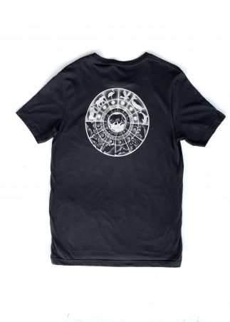 Zodiac Men's Black Tee-Back