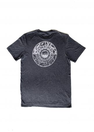 Zodiac Men's Grey Tee-Back