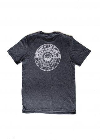 Zodiac Men's Grey Tee-Back